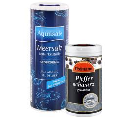 Aquasale grobes Meersalz & Ostmann Pfeffer - 2145300006119