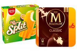 Set: Kleine Eisbox mit Cuja Mara Split 18 Stk. und Magnum Classic 12 Stk.