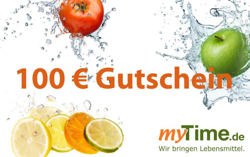 myTime.de Gutschein 100 EUR