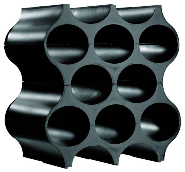 koziol set up 4er set flaschenregal schwarz ebay. Black Bedroom Furniture Sets. Home Design Ideas
