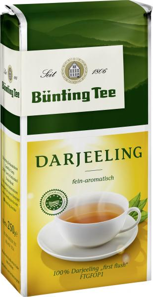 Bünting Darjeeling Tee