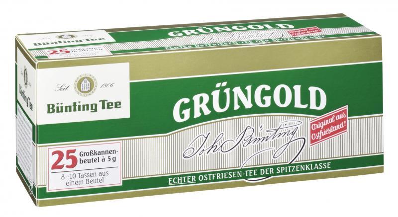 Bünting Grüngold Großkannenbeutel
