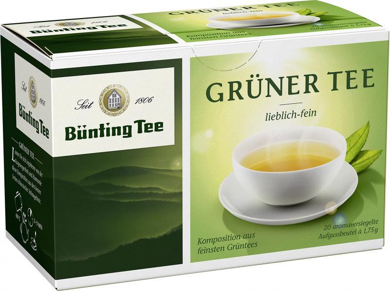 Bünting Grüner Tee