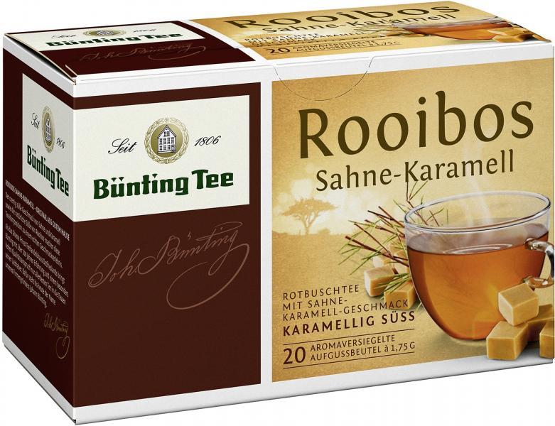 Bünting Rooibos Sahne-Karamell