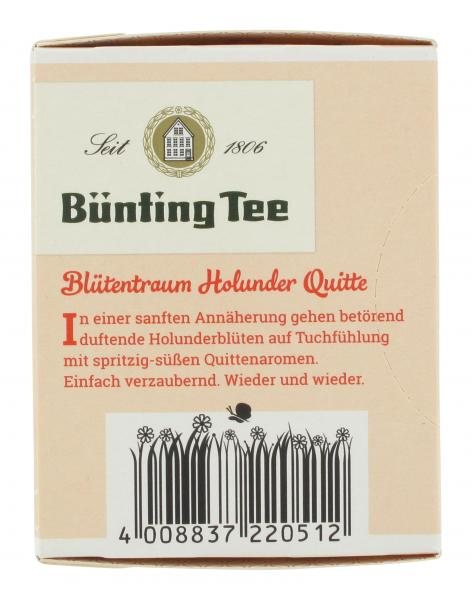 Bünting Blütentraum Holunder Quitte
