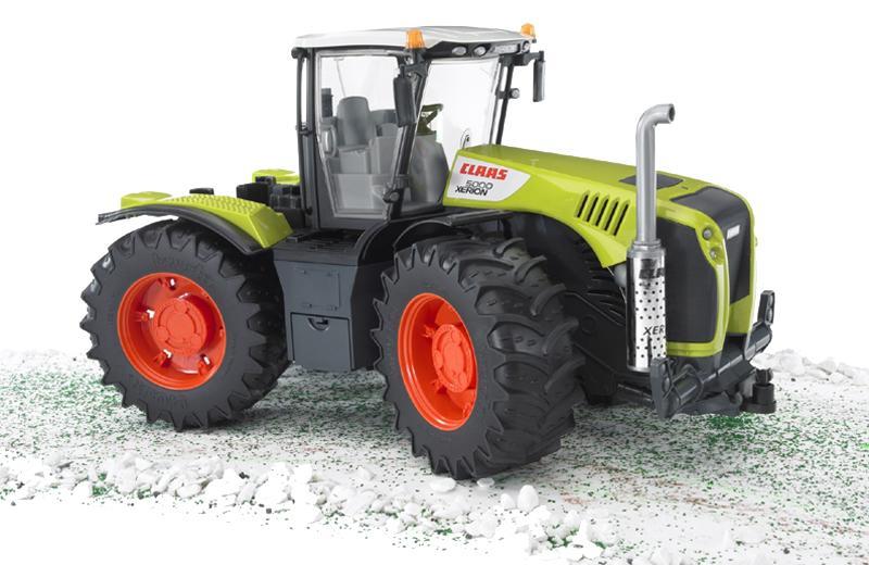bruder claas xerion 5000 03015 traktor trecker ebay. Black Bedroom Furniture Sets. Home Design Ideas