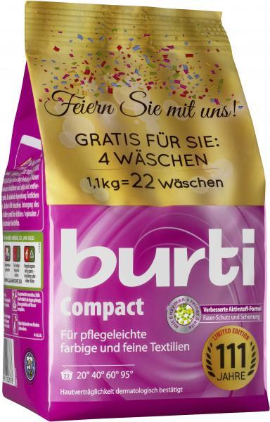Burti Compact Feinwaschmittel 18WL
