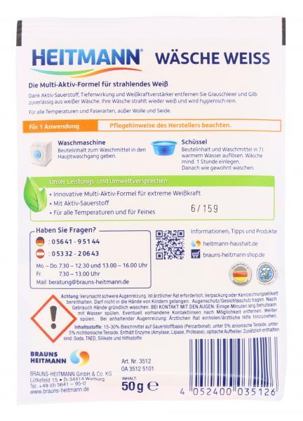 fa0ce51496 Heitmann Wäsche-Weiß 1WL online kaufen bei myTime.de