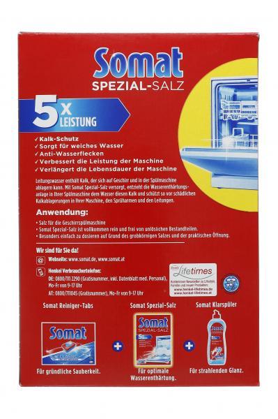 Somat Spezial-Salz 5 x Leistung