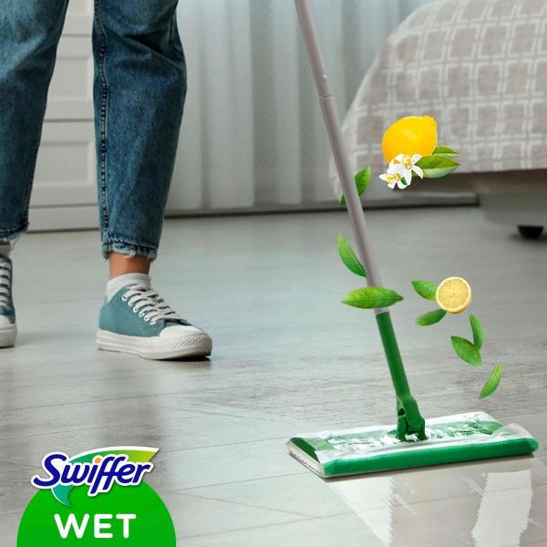 Swiffer Feuchte Bodentücher Nachfüllpackung Zitrone