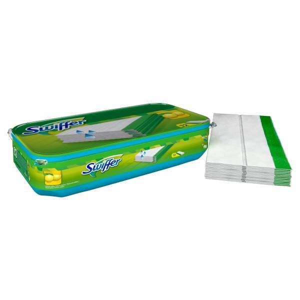 Swiffer Bodenwischer Feuchte Bodentücher Nachfüllpackung mit frischem Zitrusduft
