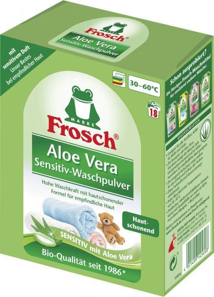 Frosch Aloe Vera Color-Waschpulver 18WL