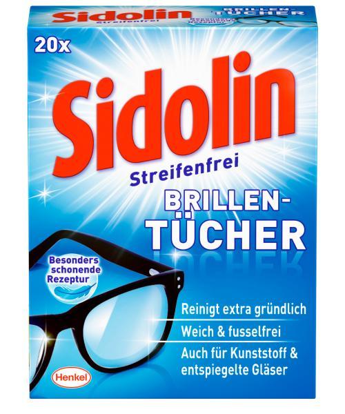 Sidolin Streifenfrei  Brillentücher