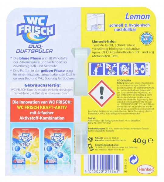 WC Frisch Duo-Duftspüler Lemon