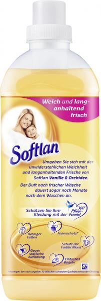 Softlan Weichspüler Vanille & Orchidee 34WL