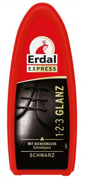 Erdal Express 1-2-3 Glanz schwarz