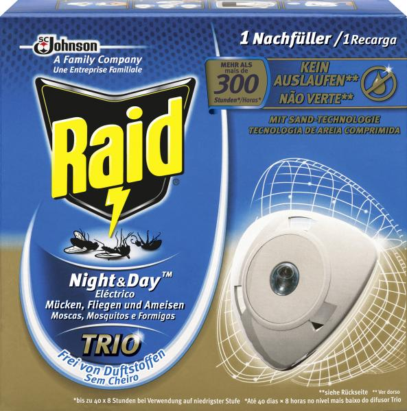 Raid Insekten-Stecker Night & Day Nachfüller