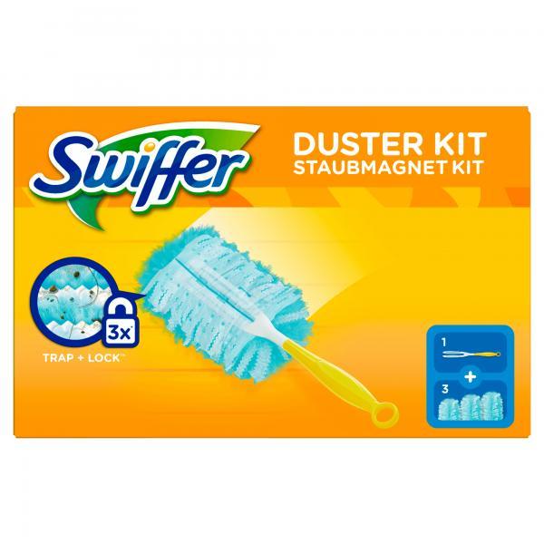 Swiffer Staubmagnet Starterset + 3Tücher