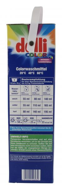 Dalli Colorwaschmittel 48WL