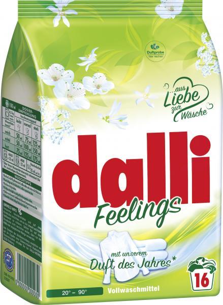 Dalli Wohlfühl Vollwaschmittel 16WL