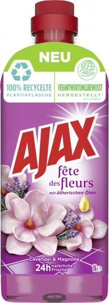 Ajax Allzweckreiniger Fête des fleurs Lavendel & Magnolie