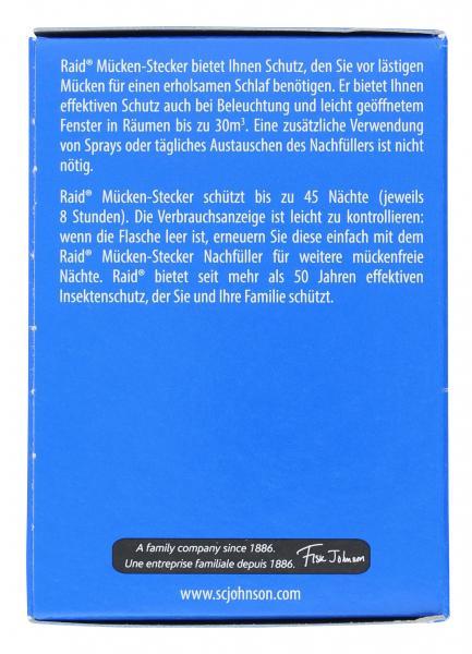 Raid Mücken-Stecker + Nachfüller