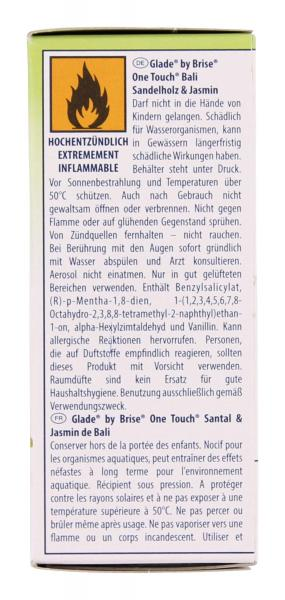 Glade by Brise One Touch/Nachfüller Bali Sandelholz & Jasmin