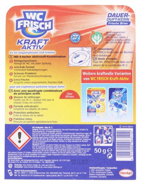 WC-Frisch Kraft-Aktiv Dauer-Duft-Kern frische Brise