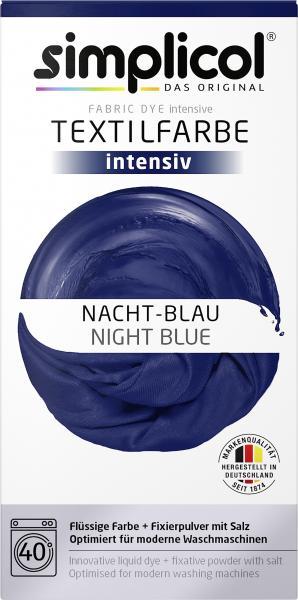 Simplicol Textilfarbe Intensiv Nacht-Blau