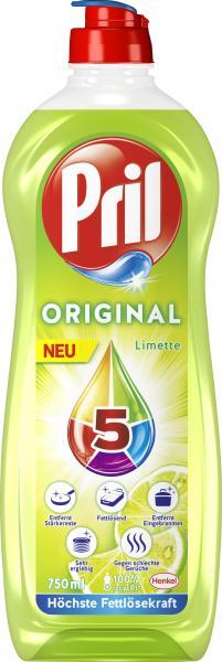 Pril Geschirrspülmittel Original Limette