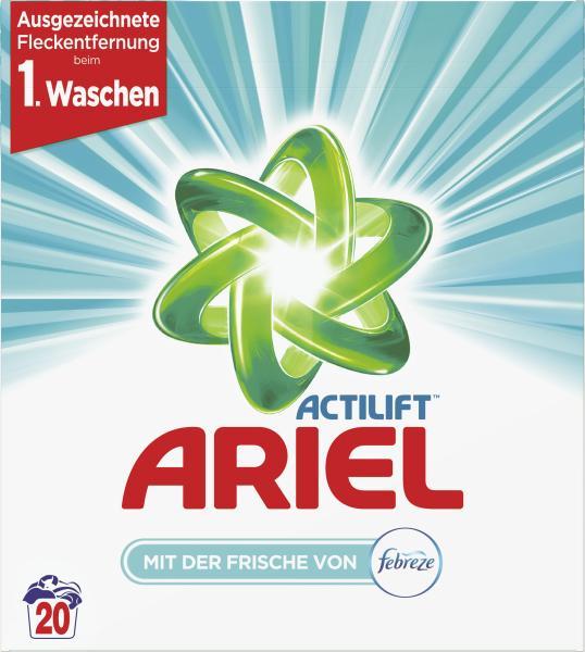 Ariel Febreze Pulver