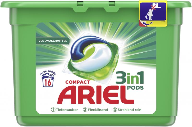 Ariel Compact 3in1 Pods Vollwaschmittel