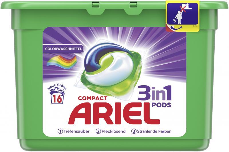 Ariel Compact 3in1 Pods Colorwaschmittel