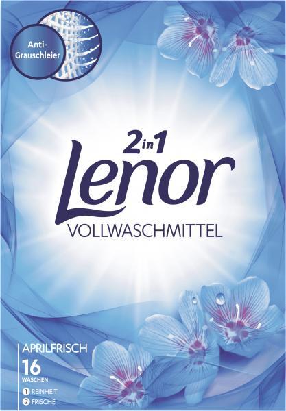 Lenor Vollwaschmittel Weiße Wasserlilie