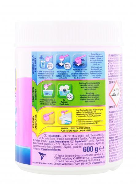 Vanish Power Weiß Oxi Action Fleckenentferner