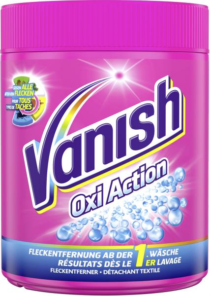 Vanish Gold Oxi Action Pink Pulver