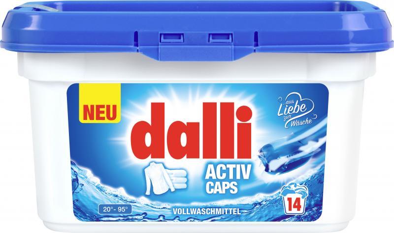Dalli Activ Caps Vollwaschmittel