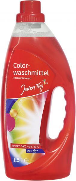 Jeden Tag Colorwaschmittel flüssig 20WL