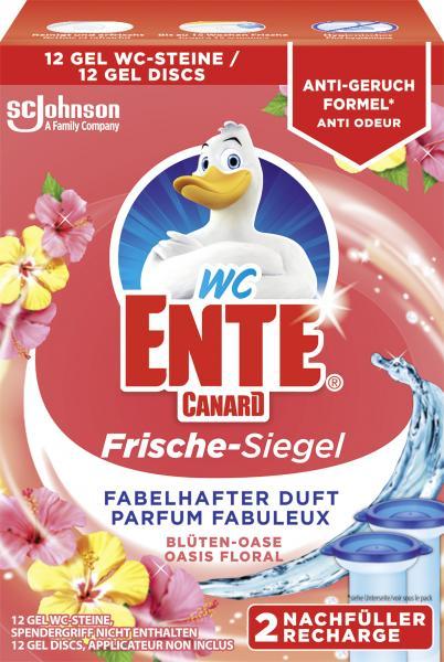 WC Ente Frische Siegel Blüten Oase Nachfüller