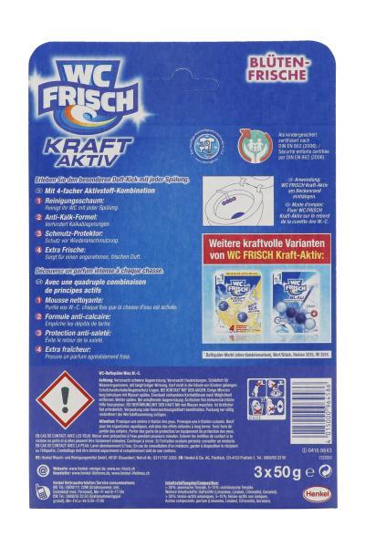WC Frisch Kraft Aktiv Duftspüler Blütenfrisch