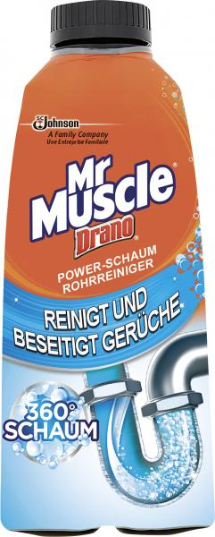 Mr Muscle Drano Power-Schaum Rohrreiniger