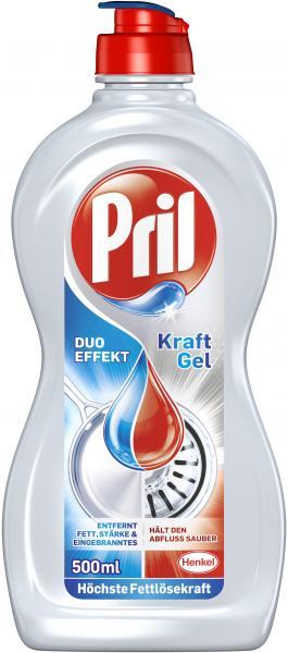Pril Geschirrspülmittel Kraft-Gel Duo Effekt