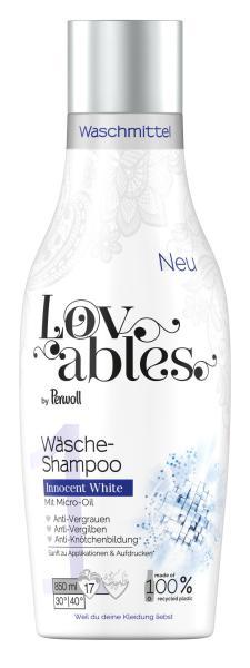 Lovables Wäsche-Shampoo Innocent White