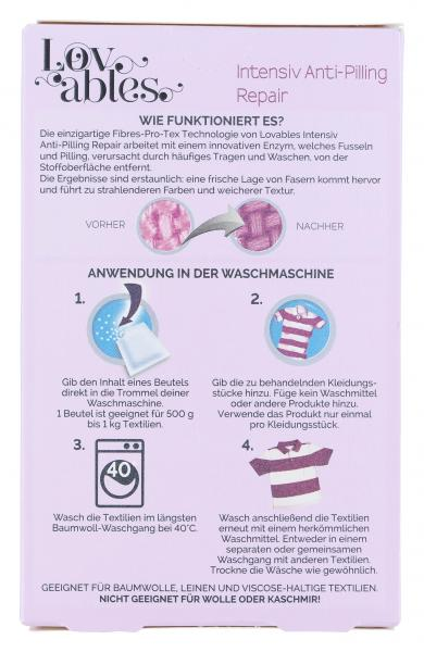 Lovables Intensiv Anti-Pilling Repair Wäschezusatz-Pulver