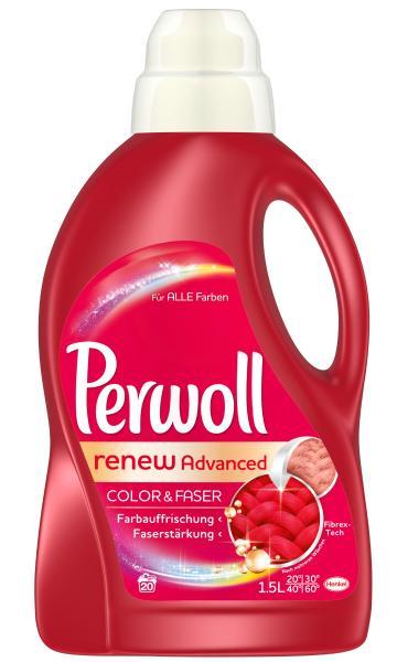 Perwoll Color & Faser Waschmittel Renew Advanced 20 WL