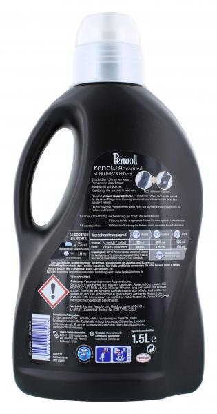 Perwoll Renew Advanced Schwarz & Faser