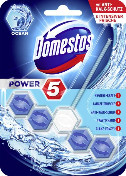 Domestos Power 5 WC-Stein Ocean