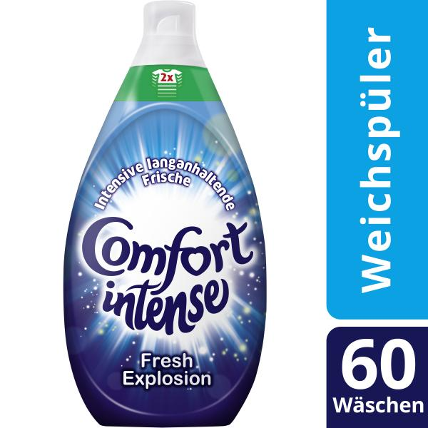 Comfort Intense Weichspüler Fresh Explosion 60 WL