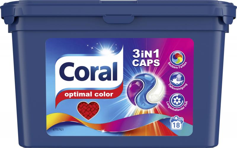 Coral Caps Optimal Color 3in1