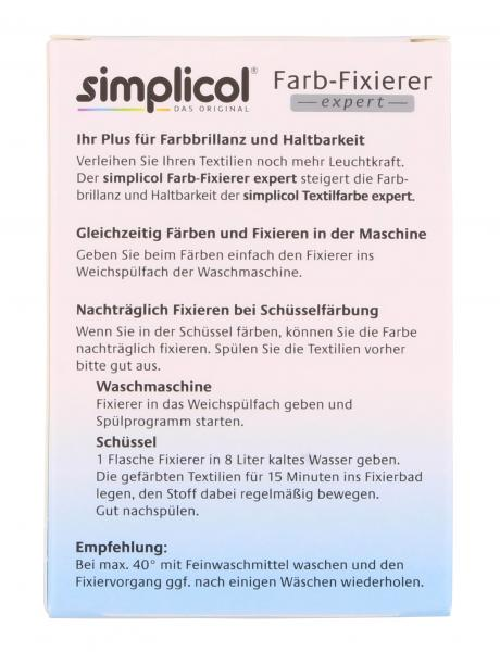 Simplicol Farb-Fixierer expert